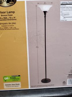Hampton Bay Floor Lamp for Sale in Fort Worth,  TX