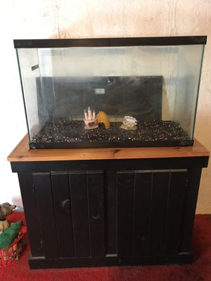 Fish tank & stand for Sale in Magna, UT