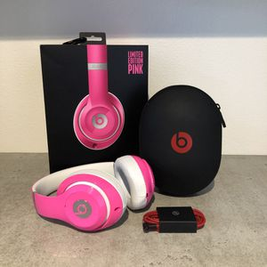 Limited edition pink beats studio headphones for Sale in Rivergrove, OR