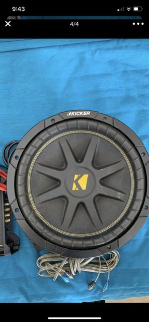 "12"" kicker DX 250 subwoofer kit (no box) for Sale in Miami, FL"