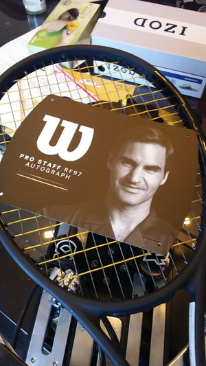 Tennis racket Wilson Pro Staff RF 97 Autographs for Sale in San Antonio, TX