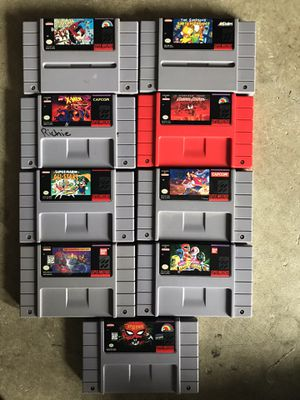 Super Nintendo Games for Sale in Federal Way, WA