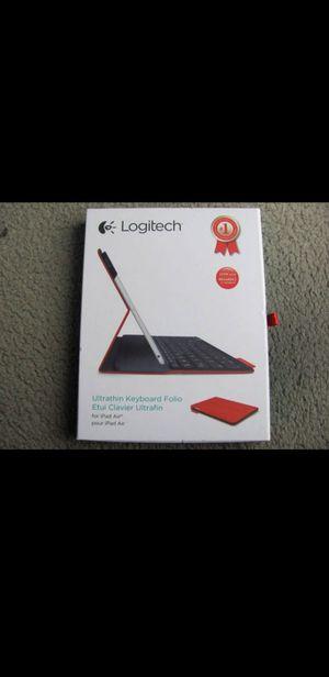 Logitech Ultrathin Bluetooth Keyboard Folio, iPad Air 1, Air 2 - iPad 5th Gen. iPad 6th Gen Tablet for Sale in New York, NY