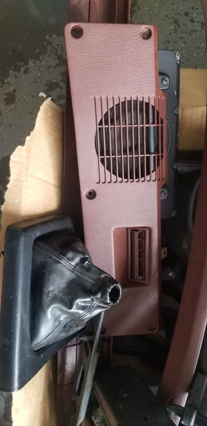 Mazda Rx7 Fc interior Parts Black and Burgundy for Sale in Kissimmee, FL