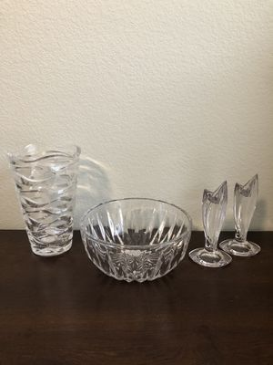 Solid Crystal Decor for Sale in Fort Worth, TX
