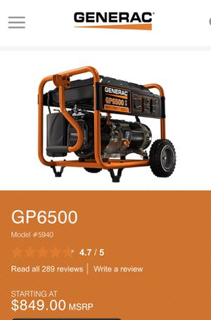 GO6500 like new for Sale in Wilmington, NC