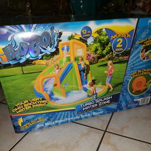 Inflatable water slide H2O GO for Sale in Lakeland, FL