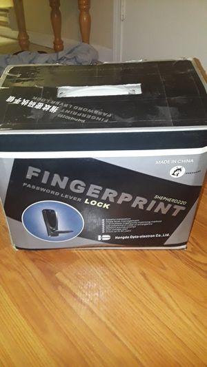 Fingerprint or password door handle for Sale in Chelmsford, MA