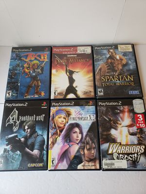 Preowned playstation 2 video games for Sale in Peoria, AZ