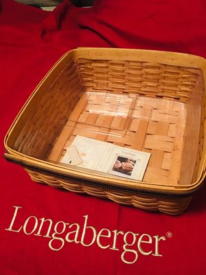 Longaberger 2001 Father's Day Checkers Basket for Sale in Greenville, SC