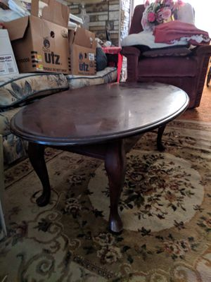 Antique Coffee table wood for Sale in Baltimore, MD
