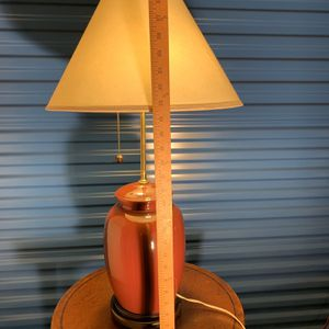 Vintage Large Table Lamp With Two 💡 Bulbs for Sale in Cleveland, OH