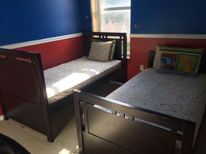 Twin bunk bed with mattress for Sale in Miramar, FL