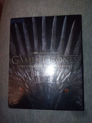 Game Of Thrones Complete Season 8 Bluray+Digital New Sealed for Sale in Union Mills, IN