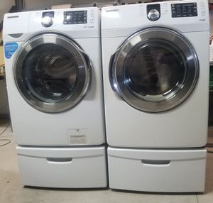 Samsung Front Load Washer and Dryer for Sale in Bartow, FL