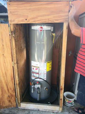 Rheen propane gas water heater for Sale in Tampa, FL