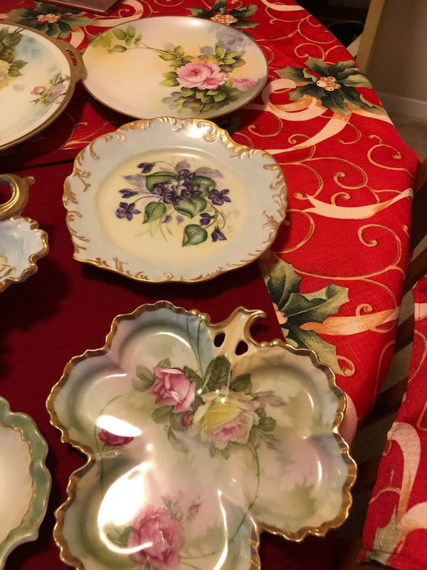 Beautiful antique plates