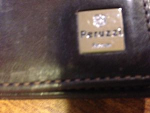 Peruzzi brown leather wallet used condition for Sale in Ceres, CA