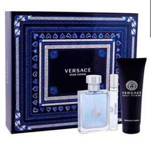 Set Versace Pour Homme 3/pc 3.4 edt spy for Sale in Moreno Valley, CA