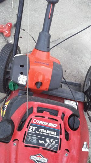 Used l Troy-Bilt mower with weed eater for Sale in Lexington, SC
