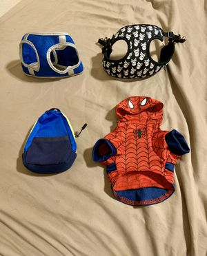 NEW! Pet harnesses, clothes, leash holder (see description for prices & sizes) for Sale in Rancho Cucamonga, CA