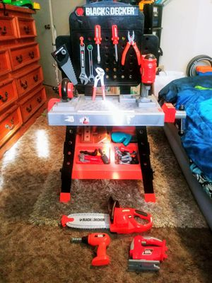 Black&Decker tool set w/ extras included for Sale in Fresno, CA