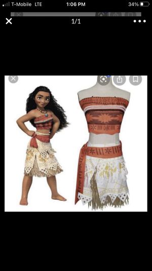 Moana adult costume for Sale in Chicago, IL