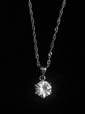 Sterling Silver Necklace CZ for Sale in Las Vegas, NV