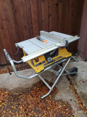 """RIDGID table saw 10"""" 15A good condition for Sale in Mesquite, TX"""