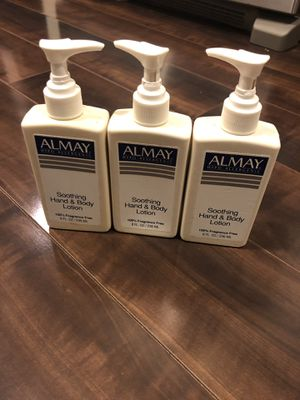 Almay, Hypo-Allergenic Lotion, New, Never Used $7- Only 2 avail for Sale in Seattle, WA