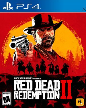 PS4 Red Dead Redemption 2 game w case for Sale in Springfield, VA