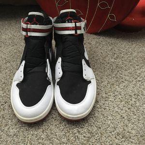 Jordan 1 Retro High Strap White Black Varsity Red for Sale in Chicago, IL