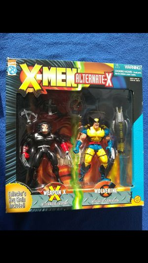 1996 xmen alternate x action figure sealed wolverine read description for details for Sale in Stockton, CA