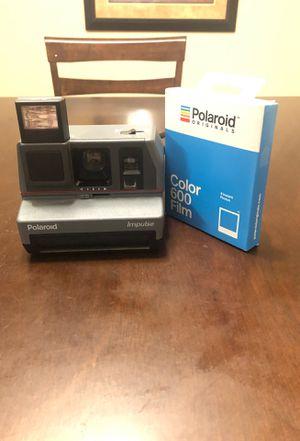Polaroid impulse camera with film for Sale in Glendale, AZ