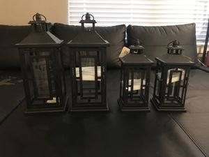 Outdoor/Indoor Lamps (willing to negotiate if you don't want all 4) for Sale in Louisville, CO