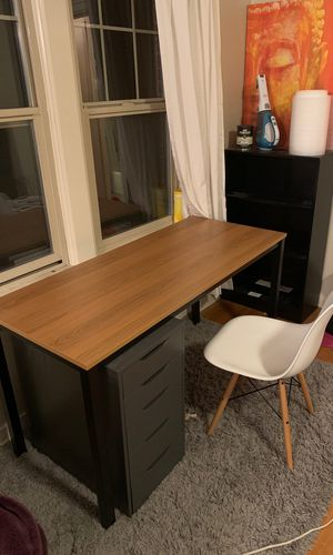 Home Office Table and Chair for Sale in Seattle, WA