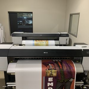 2 Epson GS6000 wide format printers and all ink for Sale in Colorado Springs, CO