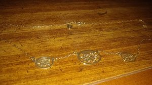 Gold chained necklace for Sale in Loganville, GA