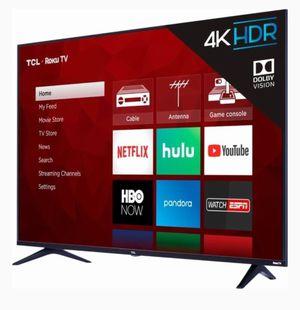 "55"" TCL Roku Smart TV for Sale in Virginia Beach, VA"