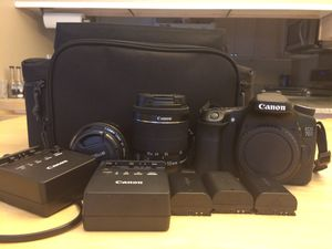 Canon 70D and pixma pro 100 printer for Sale in Pasadena, MD