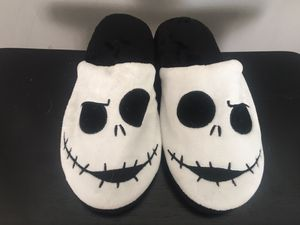 Nightmare before Christmas Jack Skellington Slippers for Sale in Miami, FL