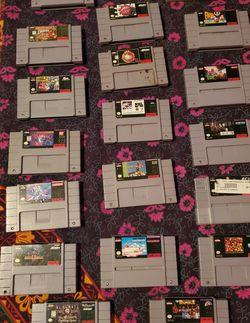 Super Nintendo Video Game Bundle for Sale in Tacoma,  WA