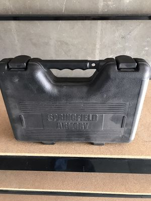 Springfield armory case with duel clip holder for Sale in Livermore, CA