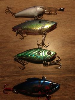 Four bass / Trout Lures for Sale in Downey,  CA