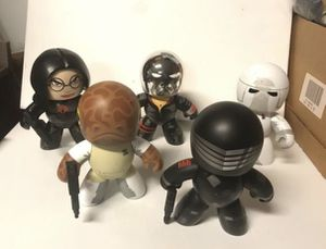 mighty muggs toy lot 5 big figures for Sale in Kenmore, WA