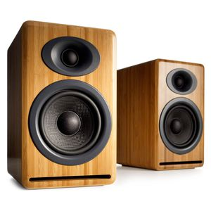 Audioengine P4 bamboo passive premium speaker for Sale in North Miami Beach, FL