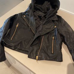 Nordstrom Beautiful Cruelty Free Leather Jacket for Sale in Miami,  FL