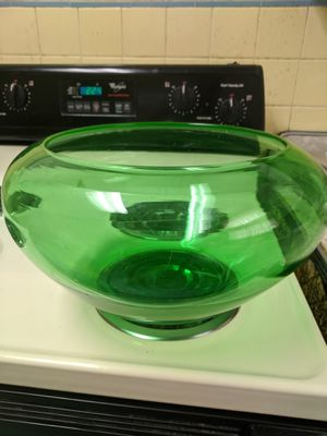 Antique Glass Green Bowl for Sale in Wilmington, DE