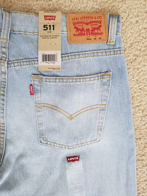 511 LEVI'S JEANS for Sale in Houston, TX