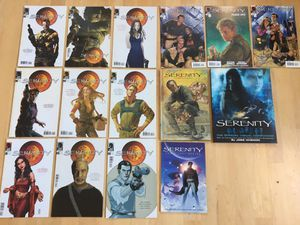 """Serenity """"Firefly """" Book/comic collection for Sale in Lebanon, OR"""